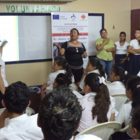 Activity of CEDRU at San Rafael high school - San Rafael del Sur - Nicaragua