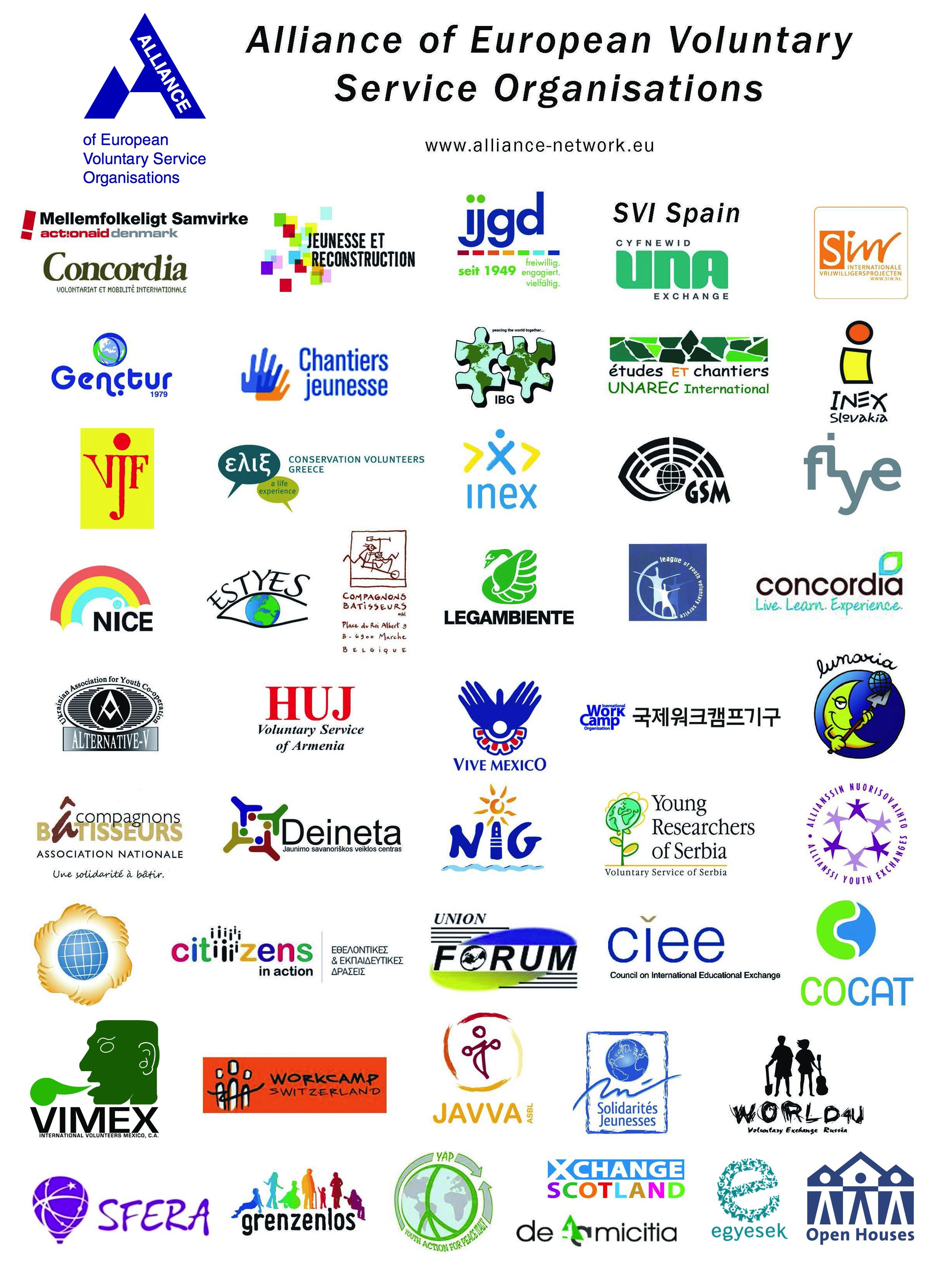 Alliance members in 2016