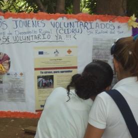 Activity of CEDRU at Masachapa school - San Rafael del Sur - Nicaragua